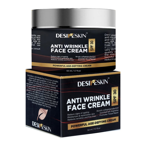 Image of Anti-Wrinkle Face Cream - SPF 30