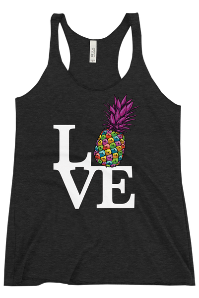 LOVE - Women's Racerback Tank