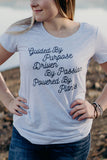 Powered By Plants - Women's Tri-Blend Tee