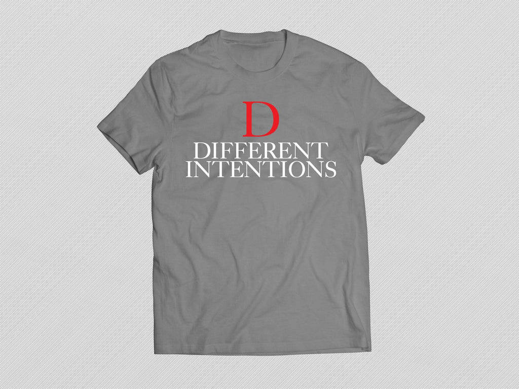 Grey DTI RED D Short Sleeve Shirt - Different Intentions