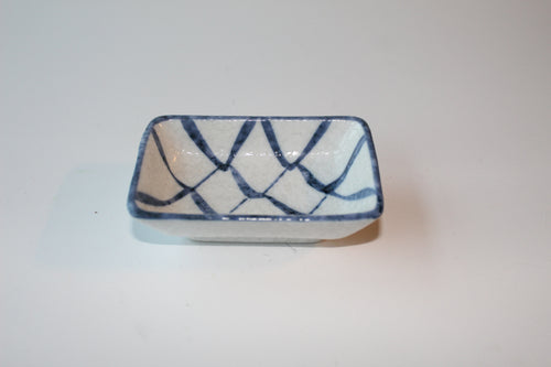 Ceramic rectangular bowl