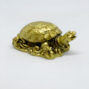 Turtle - brass color