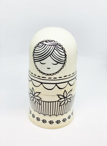 Nap Time Nesting Doll