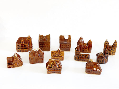 Brown houses and castles