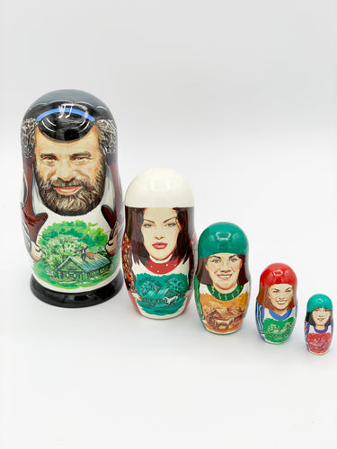 Fiddler on the Roof Nesting Dolls