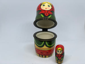 Russian nesting doll container