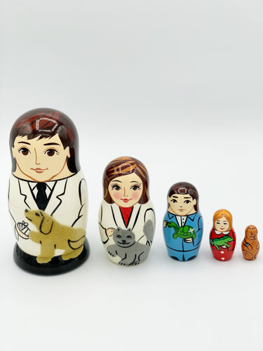 Veterinary Nesting Doll