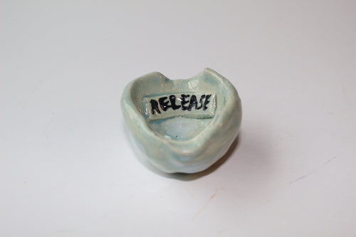 Receive and Release pinch pot