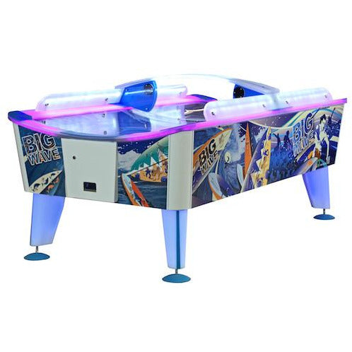 Big Wave Commercial Air Hockey Table