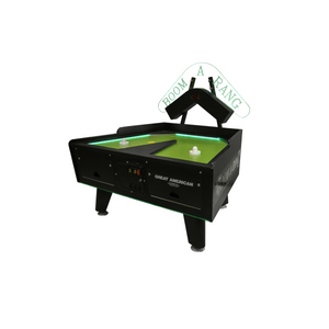 Great American Boom-A-Rang Air Hockey Table W/ Electronic Scoreboard