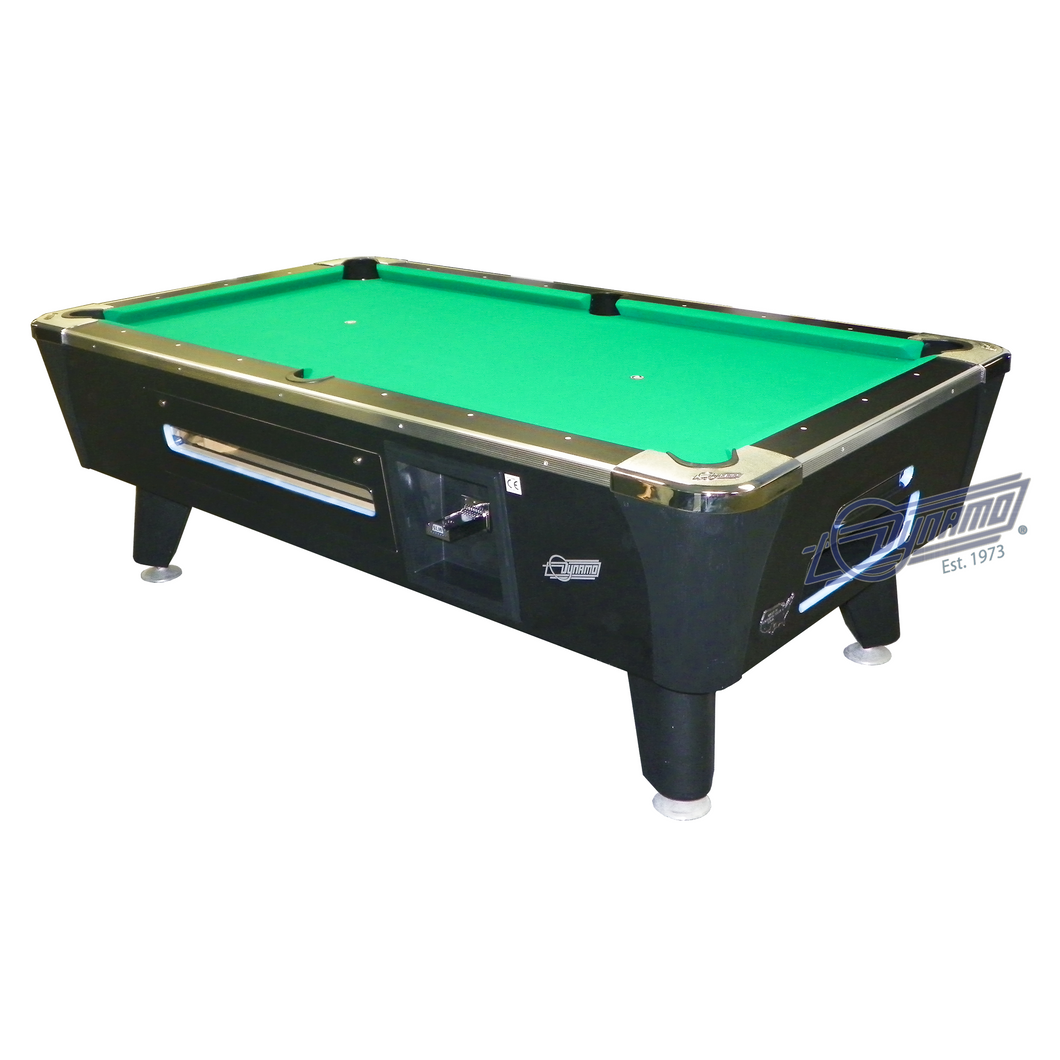 Dynamo Sedona Midnight Edition Coin Operated Pool Table