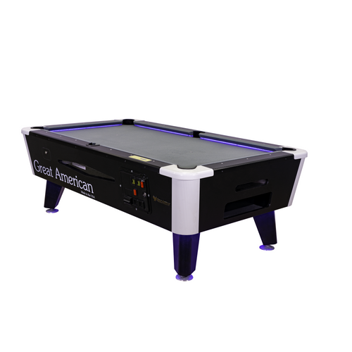 Great American Black Diamond 12v DC Pool Table