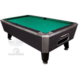 Valley Panther Commercial Pool Table (Black Cat Finish)