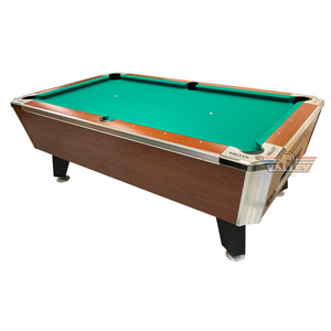 Valley Panther Commercial Pool Table - Tiger Laminate Finish