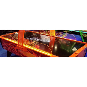 Dynamo Fire Storm Commercial Home Air Hockey Table 8'