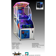 Load image into Gallery viewer, WIK Basketball Arcade Game