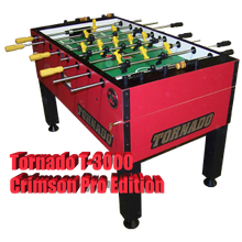 Load image into Gallery viewer, Tornado Platinum Tour Edition Coin Foosball Table