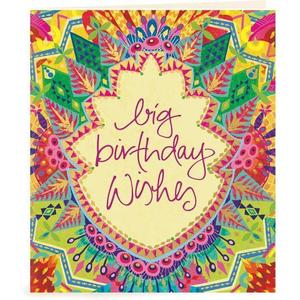 Big Birthday Wishes Gift Tag