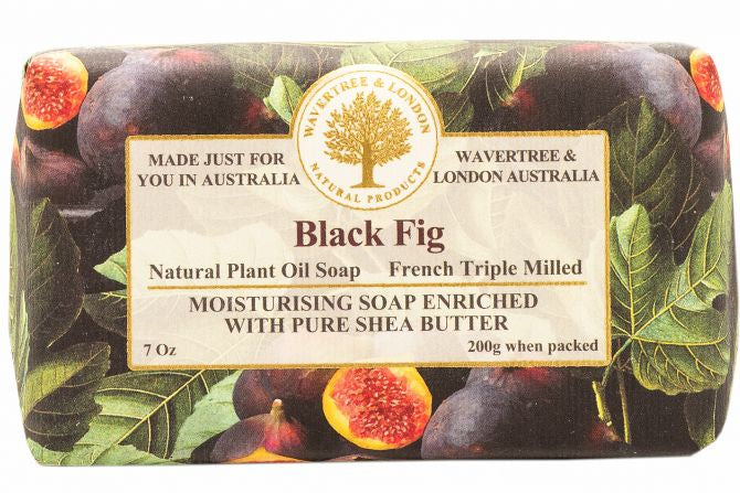 Black Fig Soap Bar 200g