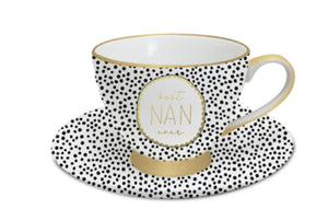 NAN DOTTY TCUP SET MD527   $19.99