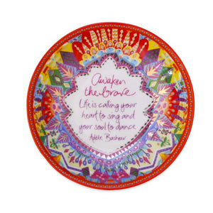 Awaken the Brave 'Kaleidoscope Tribe' Trinket Dish