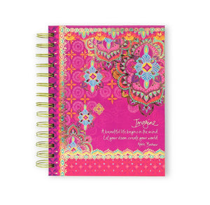 Imagine 'Persian Sunrise' Spiral Notebook