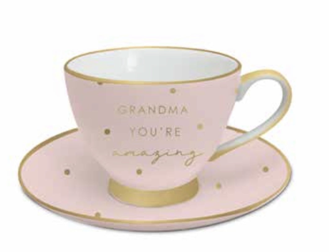 GRANDMA YOURE AMAZING TCUP SET MD512 $19.99