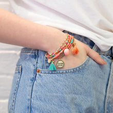 Load image into Gallery viewer, Beautiful Dreamer Charm Bracelet Stack