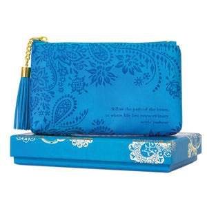 Amalfi Blue Coin Purse