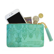 Load image into Gallery viewer, Tahitian Turquoise Coin Purse