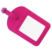 Load image into Gallery viewer, Mystic Magenta Pink Luggage Tag