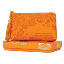 Load image into Gallery viewer, Sunrise Orange Coin Purse