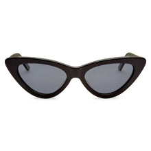 Load image into Gallery viewer, PO Polarised Vintage Ladies Cats Eye Sunglass-Black Smoke Lens