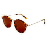 Load image into Gallery viewer, Amazon Polarised Retro Vintage Round Frame Sunglasses Tort-Brown