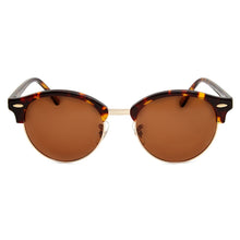 Load image into Gallery viewer, Nile Polarised Round Vintage Sunglasses with brown lens