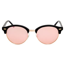 Load image into Gallery viewer, Nile Polarised Round Vintage Sunglasses with Pink Mirror