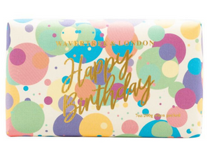 Happy Birthday Confetti Soap Bar French Pear Fragrance 200g
