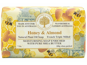 Honey & Almond Soap Bar 200g