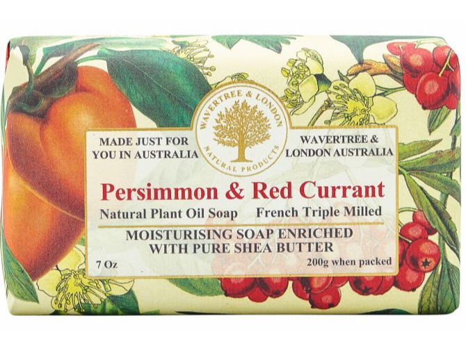 Persimmon & Red Currant Soap Bar 200g