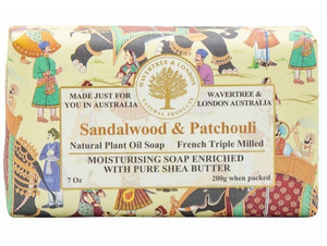 Sandalwood & Patchouli Soap Bar 200g
