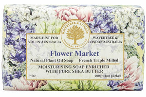 Flower Market Soap Bar 200g