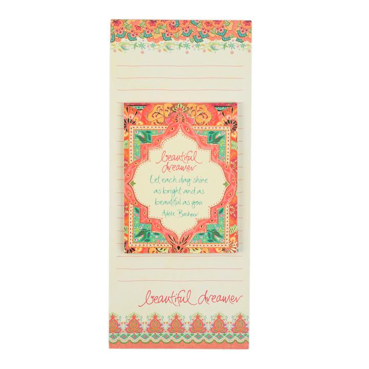 Beautiful Dreamer Shopping List Set