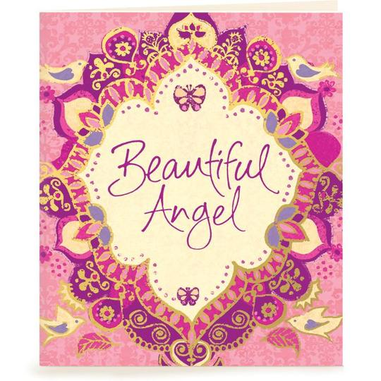 Beautiful Angel Gift Tag