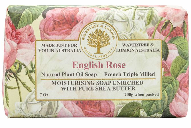 English Rose Soap Bar 200g