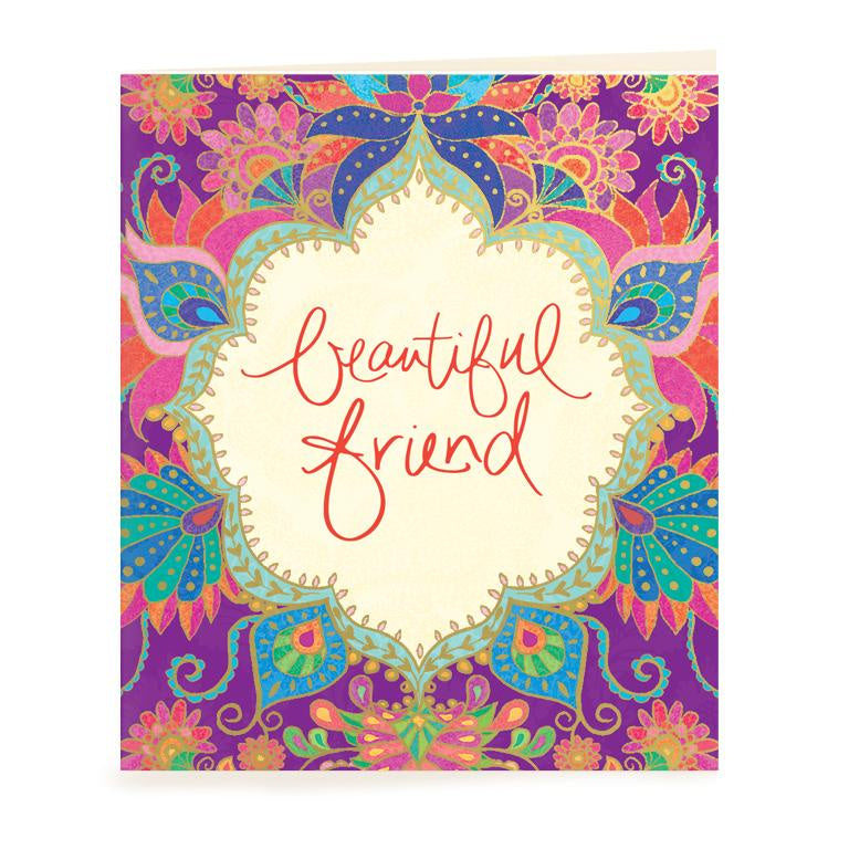 Beautiful Friend Gift Tag