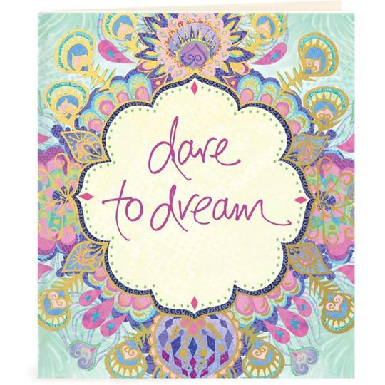 Dare to Dream Gift Tag