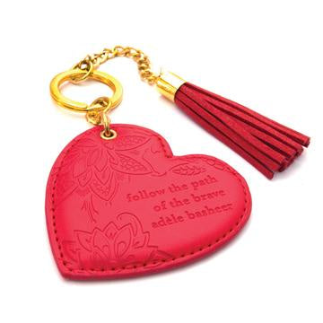 Fiesta Red Key Chain