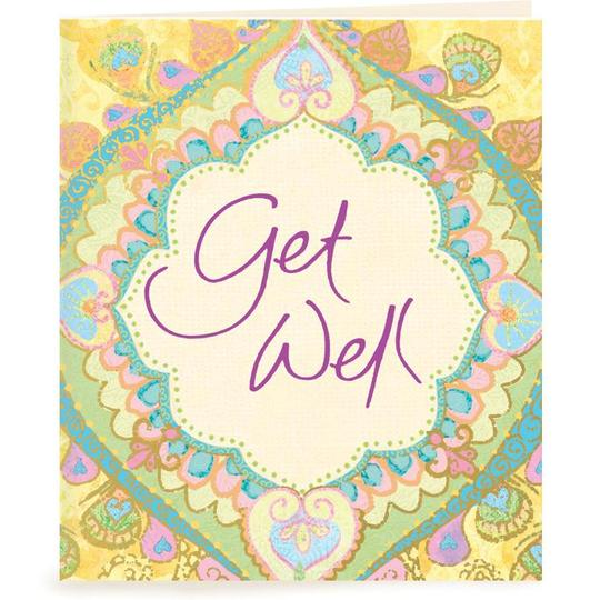 Get Well Gift Tag