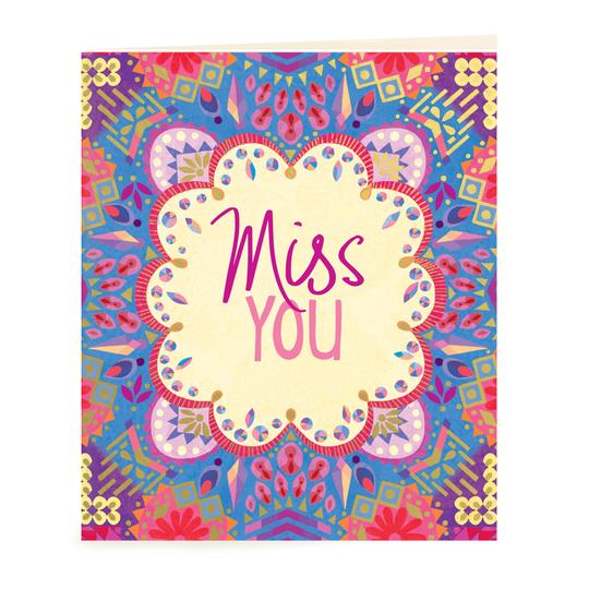 Miss You Gift Tag