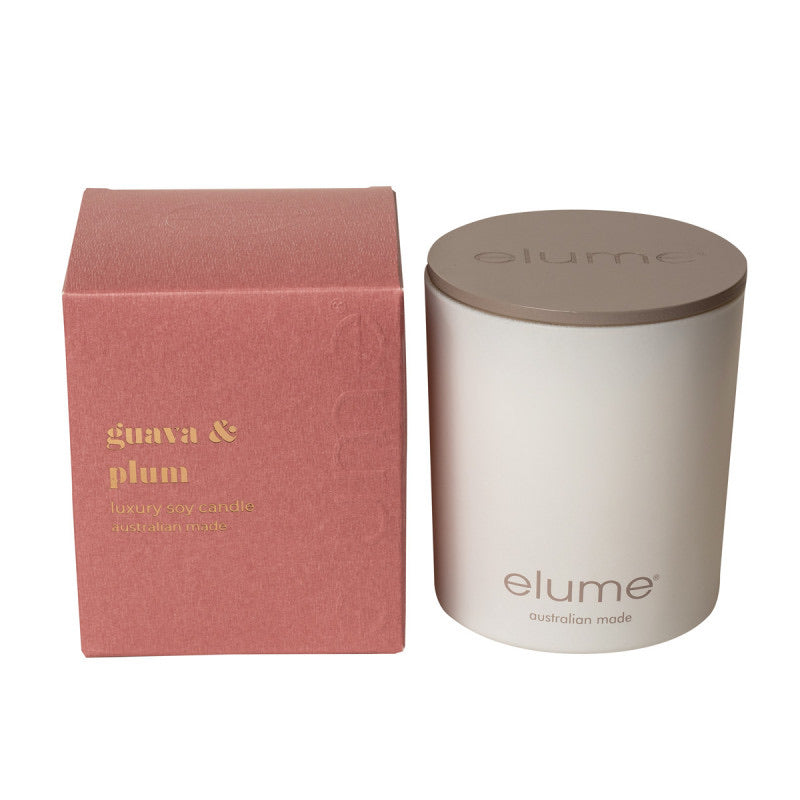 Guava Plum Soy Candle